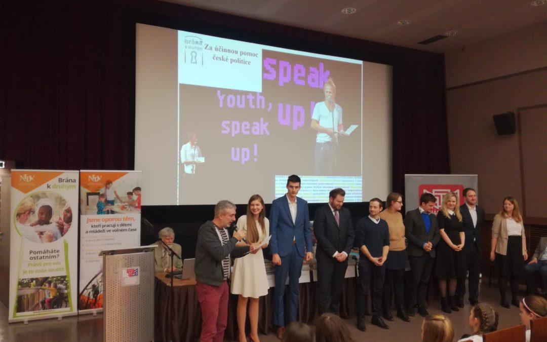 TZ: Projekt YSU! vyhrál ocenění Brána k druhým