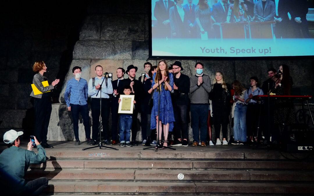 Projekt Youth, Speak Up! vyhrál Cenu diváků České televize
